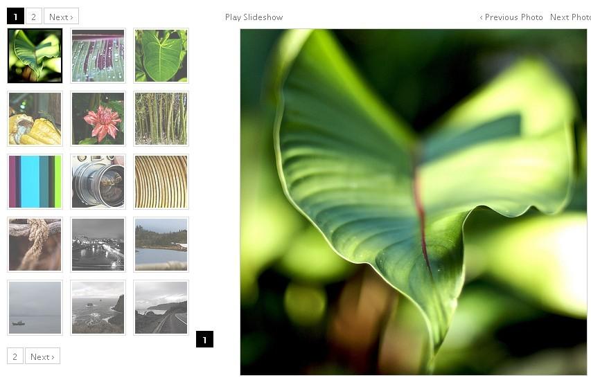 Fast Performing Photo Gallery Plugin - Galleriffic