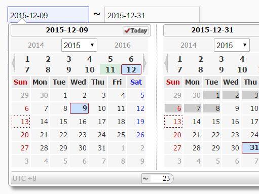 Feature-rich Date Picker Plugin with jQuery - wsCalendar