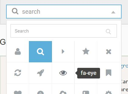 Feature-rich Font Icon Picker Plugin For jQuery - asIconPicker