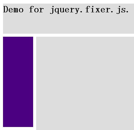 Fixed Position Elements Plugin for jQuery - Fixer
