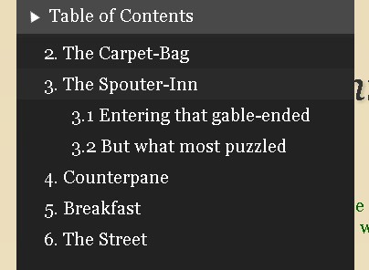 Fixed Table of Contents Plugin with jQuery