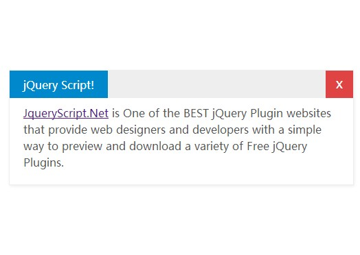 Flexible & Draggable jQuery Popup Window Plugin - Dialog