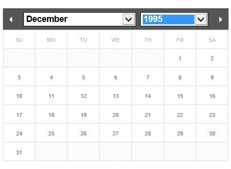 Flexible and Multi-Language jQuery Calendar & Datepicker Plugin