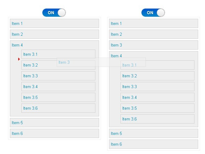 Flexible jQuery Drag and Drop Sorting Plugin - Sortable