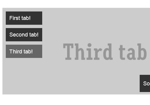 Flexible jQuery Tabbed Content Plugin - Herotabs