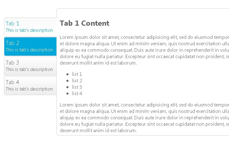 Flexible jQuery Tabbed Interface Plugin - SmartTab