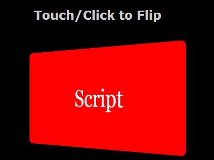 Flip An Html Element with jQuery and CSS3 - Flipper