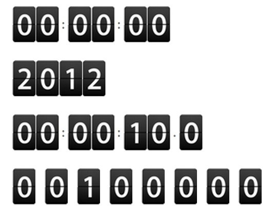 Flip Clock Countdown & Countup Plugin with jQuery - Counter | Free