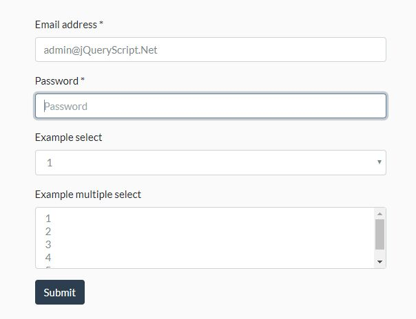 Move Focus To Empty 'Required' Field On Submit - Tabable Required Fields