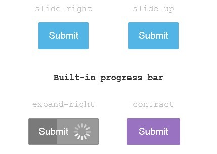 <b>Form Submit Buttons with Built-in Loading Indicators - Ladda</b>