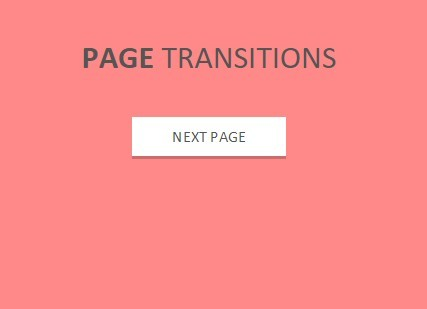 Full Page Transition Animations with jQuery and CSS3 - Page Transition