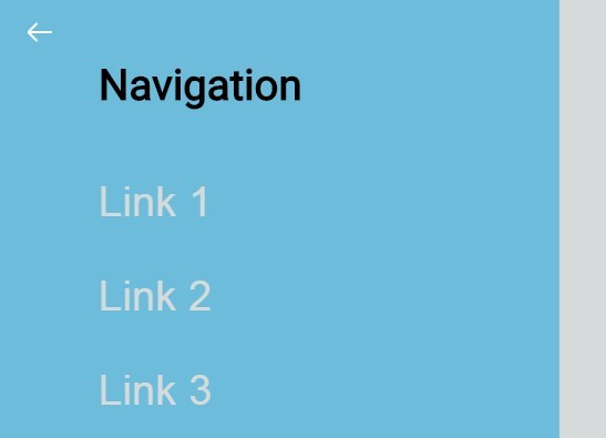 Fullscreen Off-canvas Navigation with jQuery and CSS3