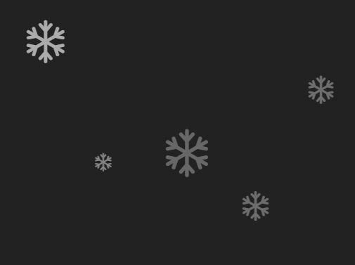 Fullscreen Snow Falling Effect With jQuery - Snowfall
