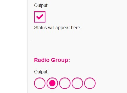 Fully Customizable Radio Buttons / Checkboxes with jQuery and CSS