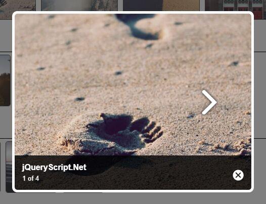 Mobile-friendly Gallery Lightbox Plugin - jQuery DNlightBox
