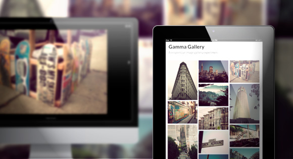 Gamma Gallery Responsive Image Gallery