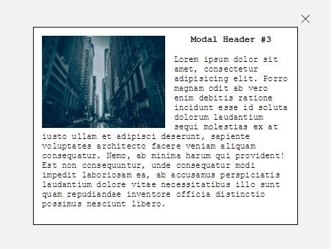 Minimal Generic Modal Window Plugin With jQuery - Modal.js