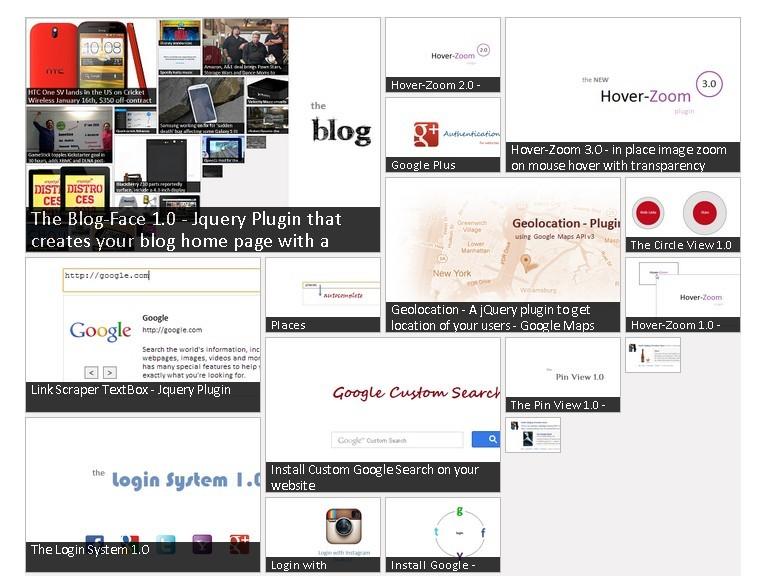 Gives Your Blog A Masonry Look - Blog-Face
