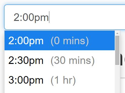 Google Calendar Like jQuery Time Picker Plugin - Timepicker.js