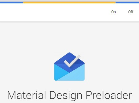 Google Inbox Style Linear Preloader Plugin with jQuery and CSS3