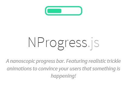 Google Like jQuery Slim Progress Bar Plugin - NProgress