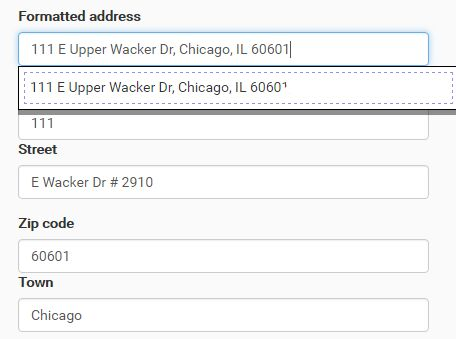 Minimal Google Place Autocomplete In jQuery - Address Suggestion