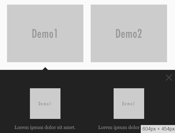 Google Style Expanding Thumbnail Grid Plugin With jQuery - Mg-Space
