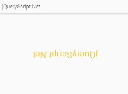 Google Style Text Flip & Rotate Effects with jQuery and CSS3