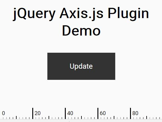 horizontal Graph Axis Plugin For jQuery - Axis.js