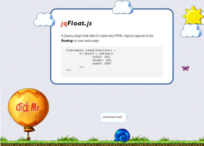 Jquery animation plugins page 55 jquery script - Jquery floating div ...