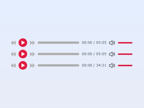 Minimalist HTML5 Audio Player - jQuery maudio