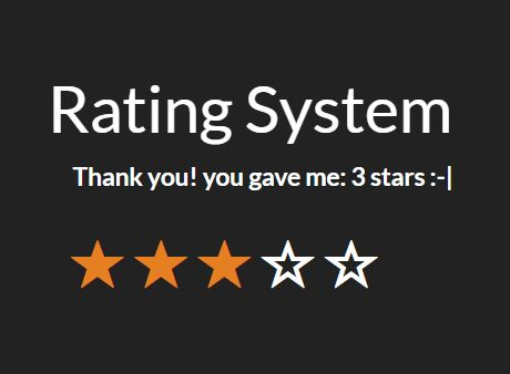 Simple HTML5 Rating Plugin For jQuery - rating-system | Free