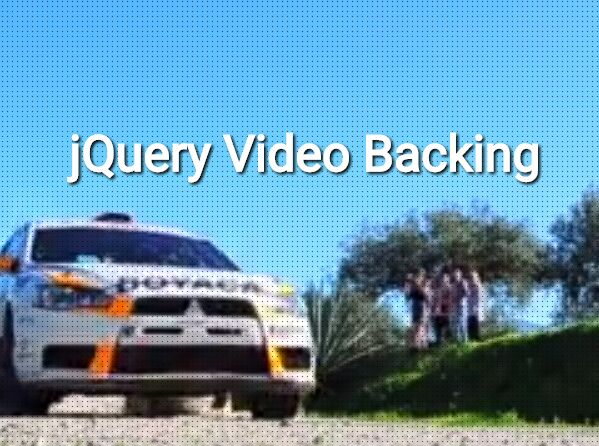 jQuery Plugin For HTML5 Video Background With Fallback Image - vidbacking
