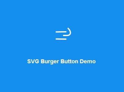 Hamburger Button Transition Effect with jQuery and CSS3