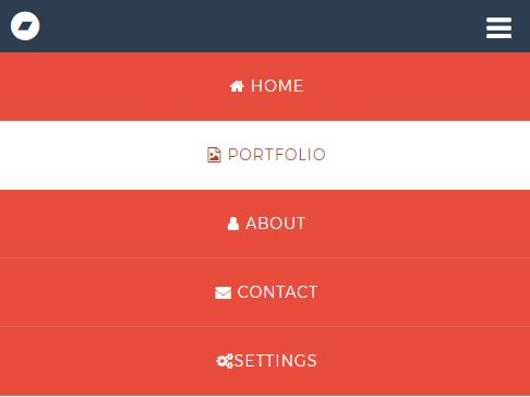 Minimalist Hamburger Dropdown Menu With jQuery And CSS3
