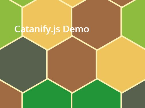 Hexagon Background Generator With jQuery - Catanify