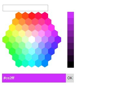 Hexagon Color Picker Plugin With JQuery And UI