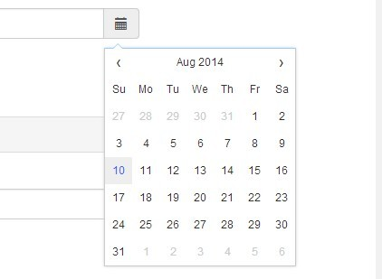 Highly Customizable jQuery Datepicker Plugin - Datepicker