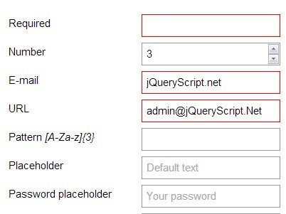 Highly Customizable jQuery Form Validation plugin - validVal