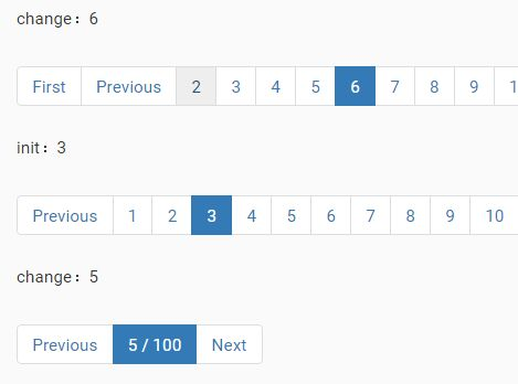 Highly Customizable jQuery Pagination Component - jqPaginator