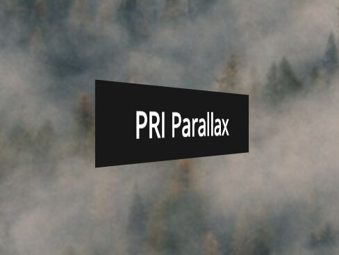 Highly Customizable jQuery Parallax Scrolling Plugin - PRI-Parallax