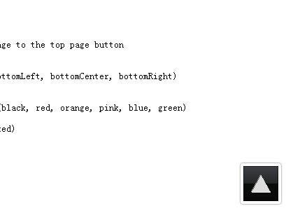 Imageless Top of The Page Plugin For jQuery - iTopPage