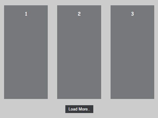 Infinite Scroll and Load More Plugin With jQuery - Load More