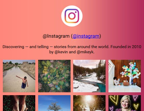 Add Instagram Photos To Your Website Without API - jQuery instagramFeed