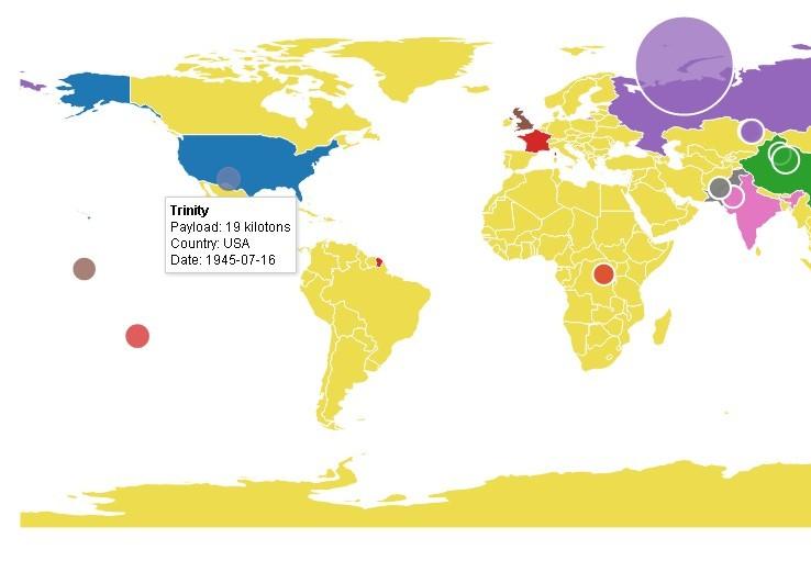 Interactive Maps For Data Visualizations Datamaps