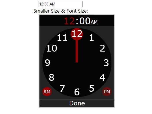 KitKat Clock-Style Timer Picker with jQuery and CSS3 - KitKatClock