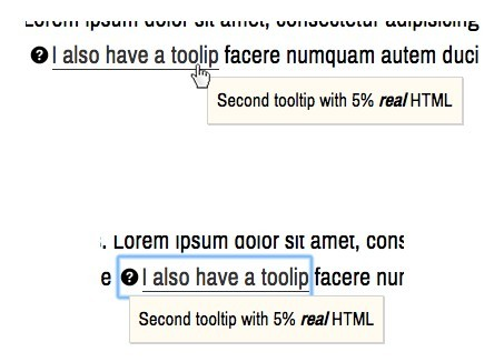 Lightweight Accessible Tooltip Plugin For jQuery