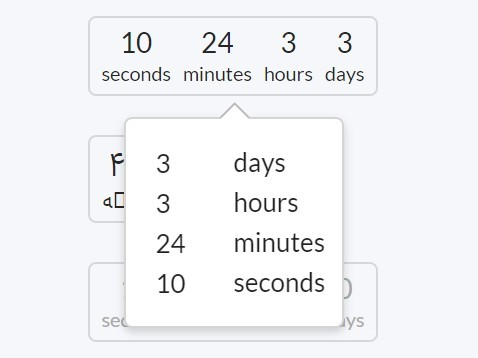 Lightweight Duration Picker Plugin For jQuery and Semantic UI