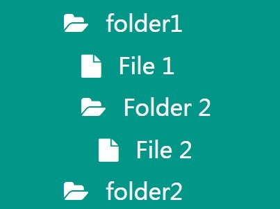 Lightweight File/Folder Tree Plugin with jQuery - Orange Tree