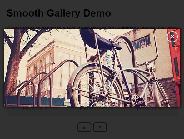 Lightweight Image Gallery & Lightbox Plugin - Smooth Gallery